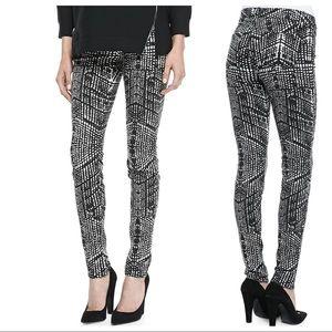 J Brand Super Skinny Kaleidoscope Pants